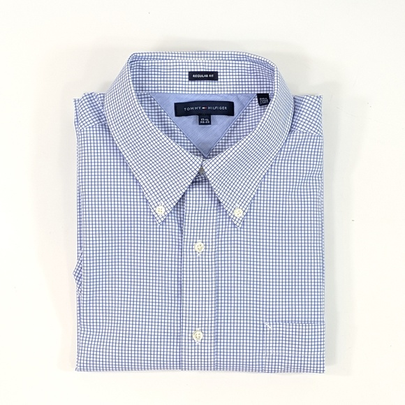WHITE-CHECKS NEW WITH TAGS TOMMY HILFIGER MEN/'S CUSTOM FIT CASUAL SHIRTS-GREEN